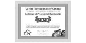 Dorothy_Keenan_Career_Professionals_Canada_Certificate_2020